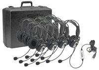 4100-10 USB Headset 10 Pack w/Case
