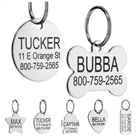 Stainless Steel Pet ID Tag