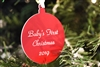 Personalized Round Ornament