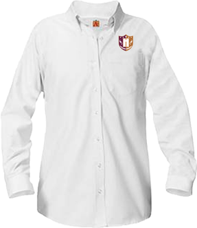 Capital Prep Harlem Ladies Long Sleeve Oxford