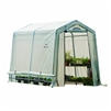 "Shelter Logic Grow it Greenhouse-in-a-Box Easy Flow Translucent Cover Greenhouse, Peak, 6' x 8' x  6' 6"" / Model 60652"