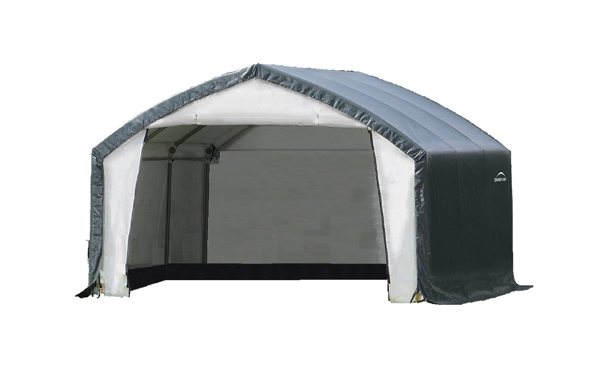 Shelter Logic AccelaFrame HD Shelter 12u0027 W x 15u0027 L x 9u0027 H / 70923  sc 1 st  TNT-FL-products ships for free sports and outdoor products & Logic AccelaFrame HD Shelter 12u0027 W x 15u0027 L x 9u0027 H / 70923