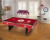 NCAA 8-Feet Billiard Table Cloth / All Your Favorite Teams Available!