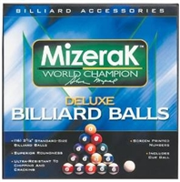Mizerak Deluxe Billiard Ball Set