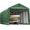 Shelter Tube Garage/Storage Green Shelter 12' Wide x 25' Length x 11' Height / Model 62810