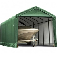 Shelter Tube Garage/Storage Green Shelter 12' Wide x 20' Length x 11' Height / Model 62809