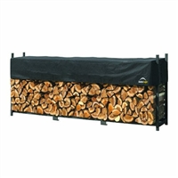 ShelterLogic Backyard Storage Series 12' Length Covered Firewood / Model 90476Rack