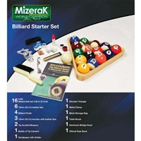 Mizerak Billiard Starter Set / Model B009H0UXH4