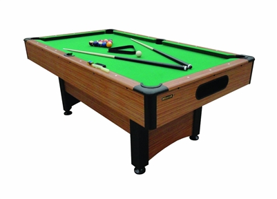 "Mizerak Dynasty Space Saver 78"" L Billiard Table with Accessories / Model P1253W"