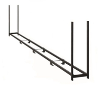 ShelterLogic Ultra Duty 8' Length Firewood Rack without Cover / Model 90472
