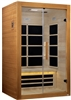 Dynamic Toulouse 2 Person Ultra Low EMF Infrared Sauna