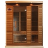 MAXXUS 3-person MX-K306-01 Red Cedar Infrared Sauna