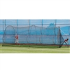 Heater Sports Pro Curve Pitching Machine and Xtender 24' Length Home Batting Cage / HTRPRO799