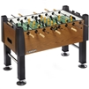 Carrom 525.00 Signature Foosball Soccer Burr Oak Table
