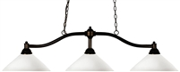 Z-Lite Chance Angle Billiard/Island Light / 147-AGM/AMO14