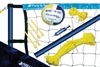 Park & Sun Sports S-SPORT-STL  Spiker Sport Steel Volleyball Set