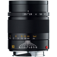Leica 90mm f/2.5 Summarit-M Manual Focus Lens (Black)