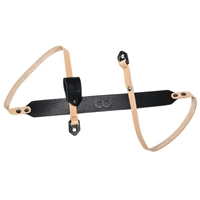 COOPH Camera Strap LEATHER (Light Brown/Black) 108cm