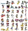 125 MICKEY MINNIE & DISNEY CHARACTERS EMBROIDERY MACHINE DESIGNS -  ADORABLE COLLECTION - TAKE A LOOK
