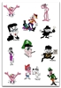 THE PINK PANTHER EMBROIDERY DESIGNS - SET OF 12 CARTOON COLLECTION 4X4
