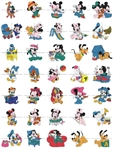 145 DISNEY BABIES EMBROIDERY MACHINE DESIGNS 4X4- VERY CUTE PACK - TAKE A LOOK