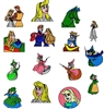 SLEEPING BEAUTY EMBROIDERY MACHINE DESIGNS 4X4 - PACK OF 15 - COLLECTION - TAKE A LOOK