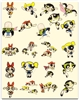 THE POWERPUFF GIRLS EMBROIDERY DESIGNS - SET OF 21 MACHINE EMBROIDERY DESIGNS