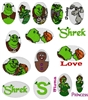 38 SHREK EMBROIDERY MACHINE DESIGNS 4X4 CARTOONS COLLECTION - TAKE A LOOK