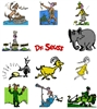 DR SEUSS EMBROIDERY MACHINE DESIGNS - PACK OF 35- 4X4 COLLECTION