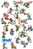 GOOFY EMBROIDERY MACHINE DESIGNS - PACK OF 45 - DISNEY COLLECTION - TAKE A LOOK