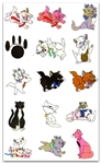 ARISTOCRATS EMBROIDERY MACHINE DESIGNS 4X4 - SET OF 20
