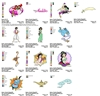 Aladdin Walt Disney EMBROIDERY MACHINE DESIGNS PATTERNS