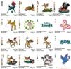 BAMBI DISNEY CARTOON EMBROIDERY MACHINE DESIGNS PATTERNS