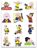 CAILLOU EMBROIDERY DESIGNS