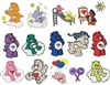 CARE BEARS CAREBEARS CARTOON CHARACTERS EMBROIDERY DESIGNS - PACK OF 106