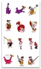 FLINTSTONES EMBROIDERY DESIGNS - SET OF 33