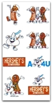 HERSHEYS Embroidery Designs - Set of 12