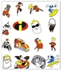THE INCREDIBLES EMBROIDERY MACHINE DESIGNS - SET OF 33 4X4