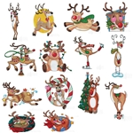 REINDEER Holidays Christmas Fun Embroidery Designs Collection LOOOK