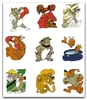 TOM AND JERRY & FRIENDS EMBROIDERY DESIGNS - SET OF 66