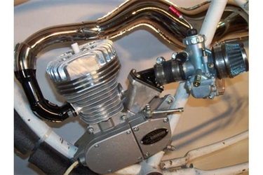 Motorized Bicycle Race Engine