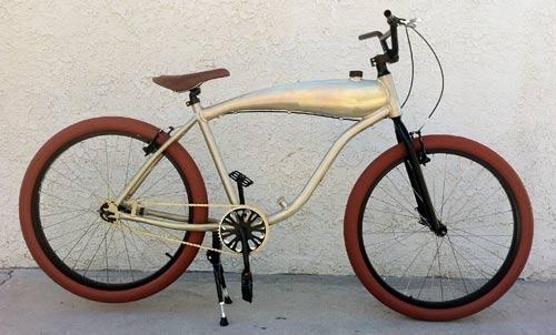 custom motorized bicycle - Motorized Bicycle Frame