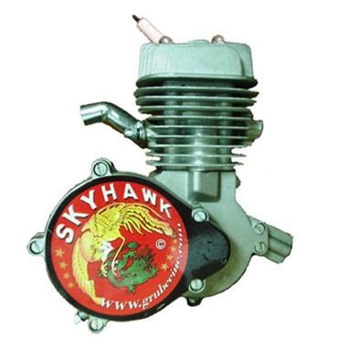 Grubee Gt5 80 66cc Silver Skyhawk Bicycle Engine Kit