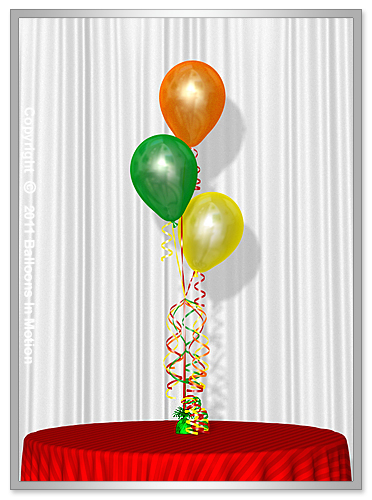 <b>Balloon Bouquet</b>  #1 (3 Latex Balloons)