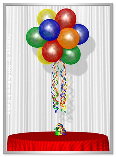 Balloon Topiary  (12 Latex Balloons)