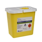 8 Gallon Chemo Sharps Containers 10 quantity