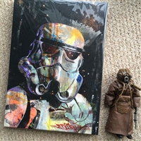 Trooper Canvas Print 16x20x1.5""