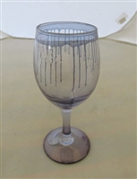 Palestinian Glass: Stemware set of six