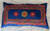 Embroidered Pillow Cover from Beit Jala