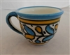 Ceramic Cups: Set of 4 cups
